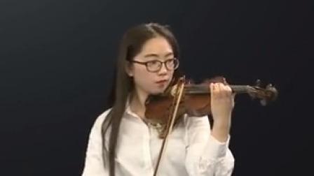 """""""最具天才的青年演奏家""""、柏林德意志交响乐团首席陆威小提琴高级课程 《帕格尼尼随想曲》第一部分"""