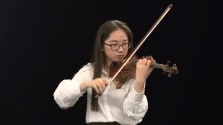 """""""最具天才的青年演奏家""""、柏林德意志交响乐团首席陆威小提琴高级课程 《帕格尼尼随想曲》第二部分"""