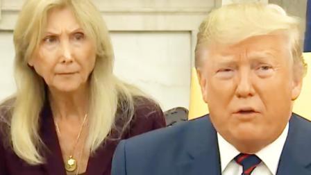 """特朗普一句:""""去叙利亚玩沙子吧!""""把女翻译整懵了"""
