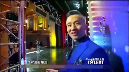 中国达人秀:这位小伙真厉害,唱歌不张嘴,观众评委佩服