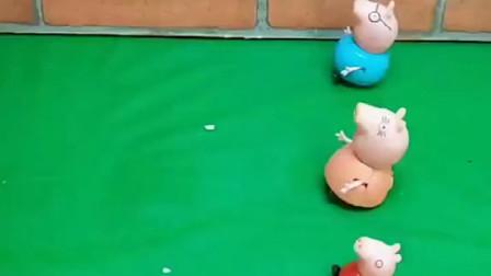 给小猪佩奇一家人每人一只乌龟,为什么乔治的乌龟长得不一样呢?
