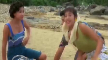 利智刚游完泳,看出查理的小心思,上岸就来了个将计就计