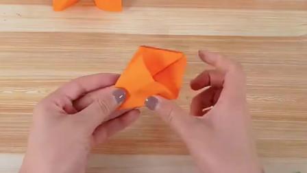 简单儿童手工,美味小柿子折纸