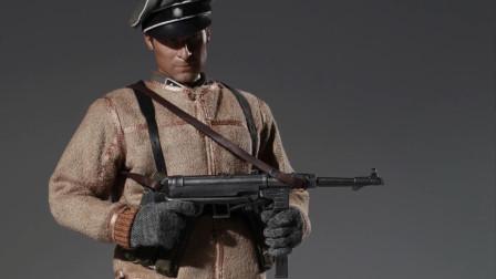 二战德国宪兵军官模型,服饰装备还原度高,很是考究!