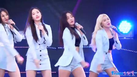 颜值超高的韩国女团,精彩热舞,尽显青春活力