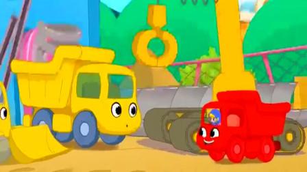 挖掘机最新工作视频大全 挖土机玩具视频 挖掘机救援  吊车  (216)