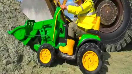 挖掘机最新工作视频大全 挖土机玩具视频 挖掘机救援  吊车  (227)
