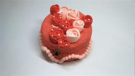 第76课:《彩泥首饰盒——浪漫玫瑰》,天才计划diy手工坊