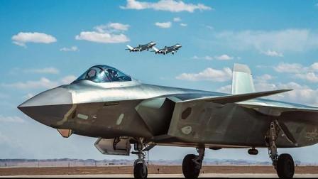 三大五代机最短起飞距离是多少?F22拔得头筹,歼20战机满脸羡慕