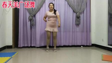 春天美广场舞《野花香》