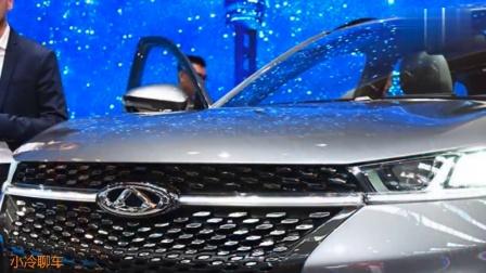 车展实拍奇瑞EXEED TX外观与内饰, 高颜值国产SUV
