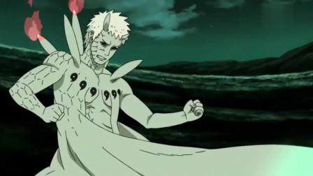 火影忍者:带土也太惨了,被抽出来九只尾兽的查克拉,解除仙体