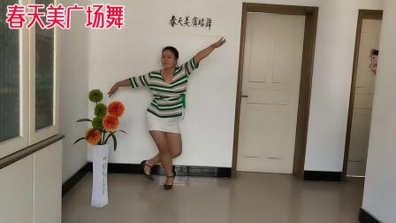 春天美广场舞《西海情歌》