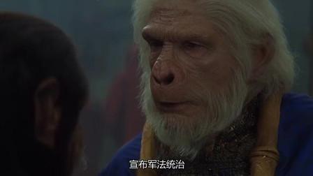 决战猩球:这只猩猩狼子野心,居然想要消灭所有的人类!