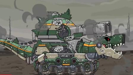 坦克世界:恐龙坦克被外星科技炸成这样,战斗力依然强劲!