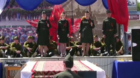 """漆黑的夜 伟大胜利""""战争年代的歌曲""""2012 Песни военных лет"""