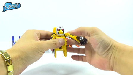 变形金刚玩具手工拼装动物造型可爱机器人