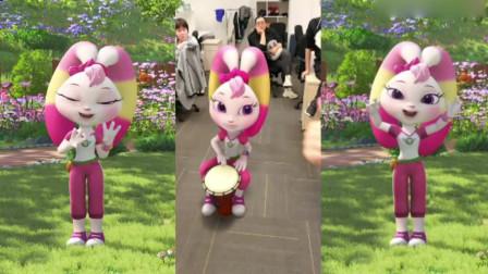 宇宙护卫队:我们是祖国的花朵,彩虹女神又有新舞蹈了,一起来跳