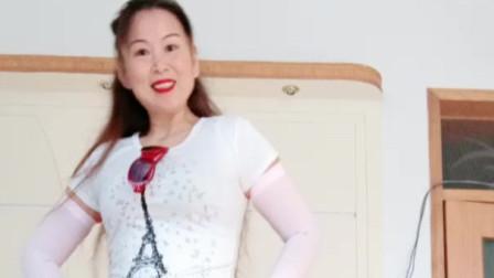 赵茉莉综艺频道广场舞  你是我今生的唯一