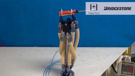 哥伦比亚大学发明人造肌肉,机器人身上实验,可提起千斤重物品