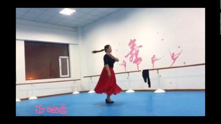 新疆舞《风格性组合》课堂练习 荷池幽香