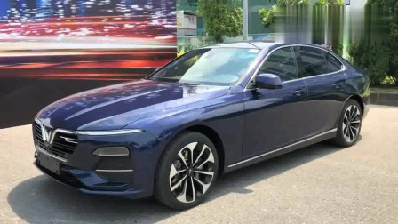看看越南造的首款轿车什么样,实拍VinFast Lux A2.0