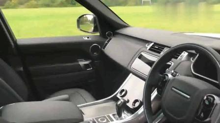 内外实拍白色路虎揽胜运动版,这才是我喜欢的SUV的样子