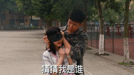 女孩突然被陌生人蒙住双眼,急中生智化解生命危险,太牛了