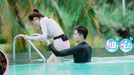 本以为徐璐潜水装够亮眼了,当看到她出水的瞬间,网友:魂都被勾走了!