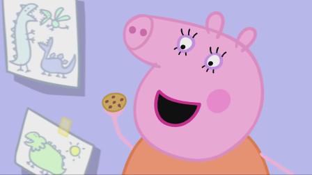 猪妈妈的曲奇小饼干制作成功了