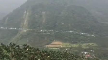 网传白色鸟群飞过山谷拍摄地为台湾 系牛背鹭迁徙奇观