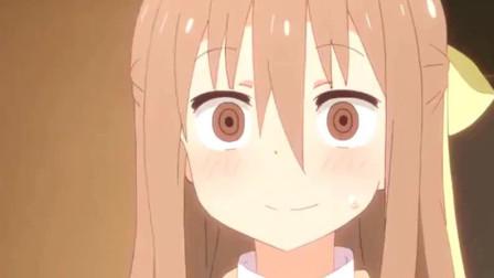 《干物妹》:爱吃面包吊儿郎当的呆萌小光,也总是让姐姐头疼啊!