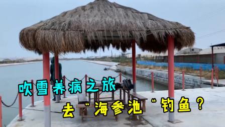 """吹雪VLOG:养病之旅,去""""海参池""""钓鱼,用的鱼饵都这么特别?"""