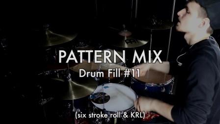 Wojtek Deregowski - Pattern Mix - Drum Fill #11 - DRUM LESSON