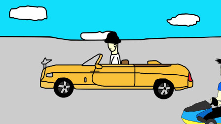 小明动画短片:卡丁车大逃杀(第2集)
