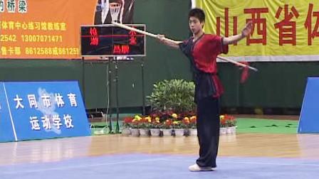 2005年第十届全运会男子武术套路预赛 男子枪术 022 昌顺(湖北)