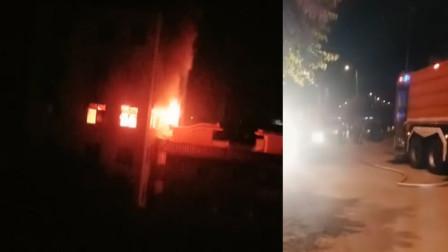 福建南安一卫浴工厂发生火灾 导致4人死亡3人受伤