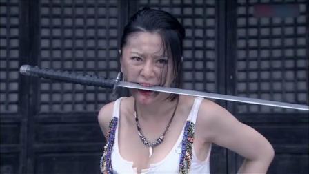 姑娘武功超群,一个人杀了十几个特务,结局却让人唏嘘!