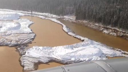 实拍:俄罗斯水坝发生垮塌附近金矿被淹 致15人死亡多人失踪