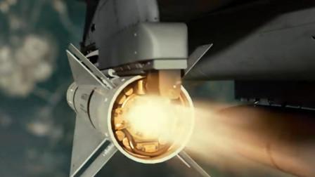 战斗机空战凶猛互怼 导弹火力齐发 生猛强悍!
