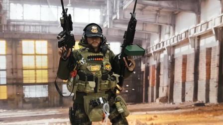 伊拉克特种部队ISOF士兵模型,精致程度实属罕见,简直是等比例还原!