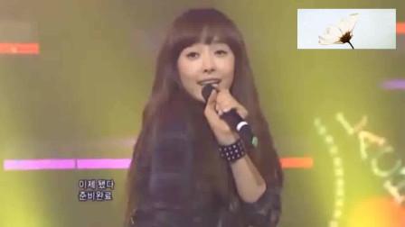 f(x)《La chA Ta》打歌舞台,表白我们雪莉!