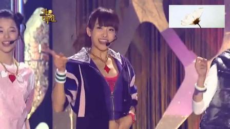 f(x)雪莉与SJ神童东海的《Chu~》合作舞台,这场舞台合作的太有趣了