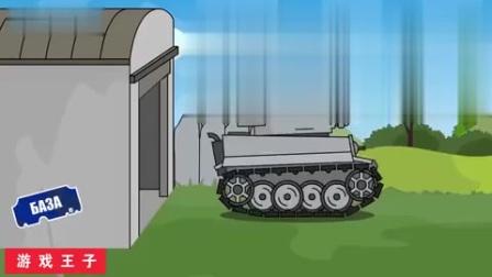 坦克大战经典坦克世界大战,大坦克受伤了走不动了