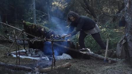 丛林生活 丛林之旅-天然的庇护所,食物,篝火