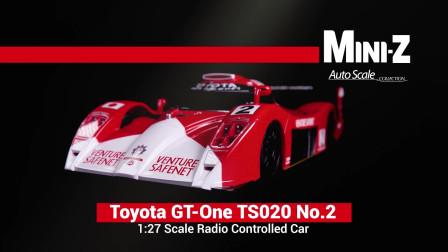 kyosho MINI-Z Toyota GT-One TS020 No.2