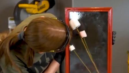 用糖也能做玻璃?牛人用两种糖做实验,网友:忍不住流口水