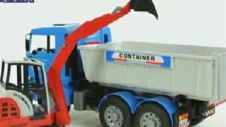 最新挖掘机视频表演1052大卡车运输挖土机+挖机工作+工程车