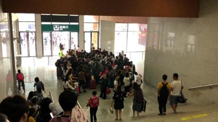 从广州南站坐高铁到阳朔站全程实拍,记录广西沿途美景