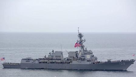 局势已发生根本改变,美舰刚抵达近海就被围堵,大批精锐集结待命